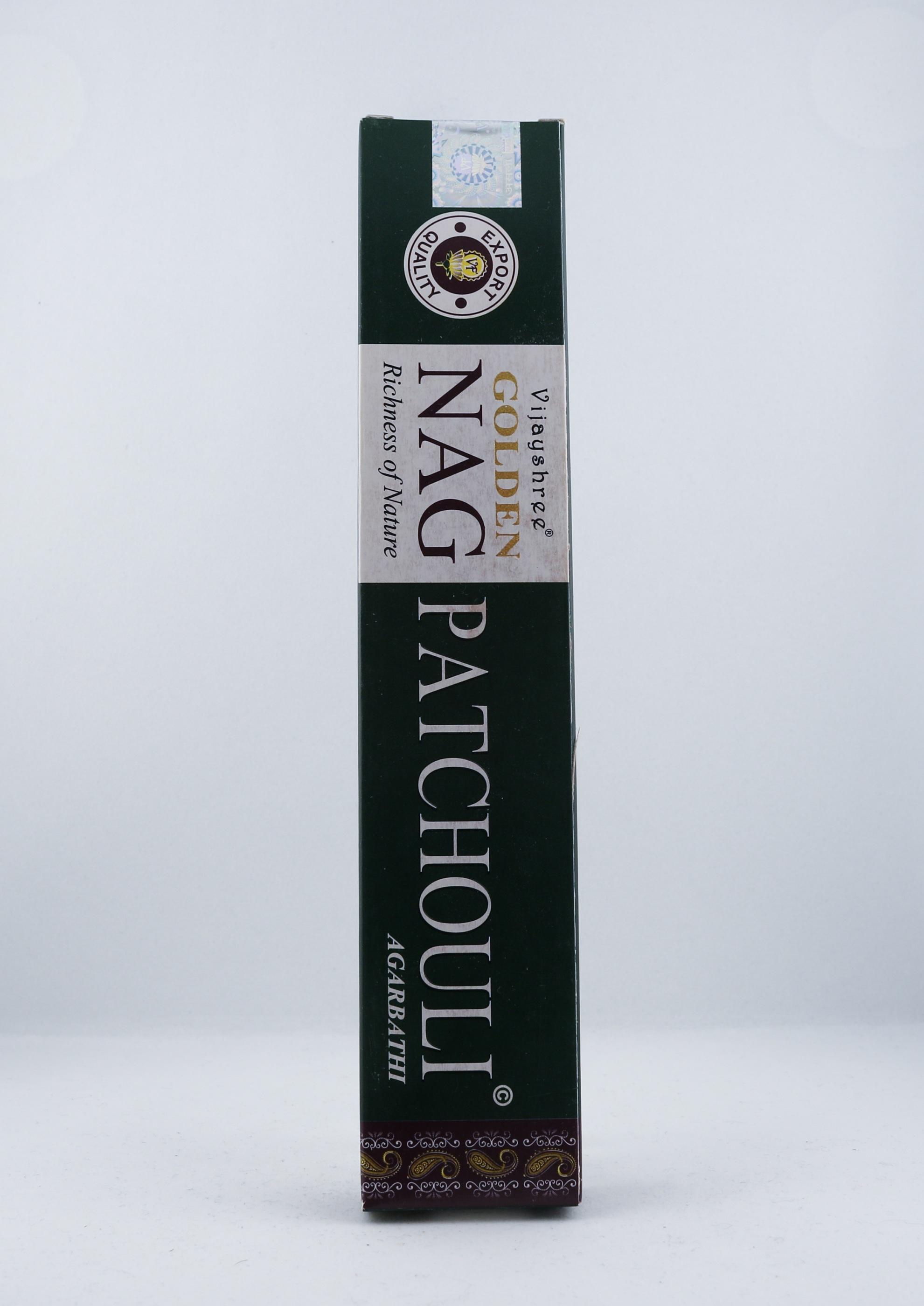 Golden Nag Patchouli rökelse wellness ayurveda halmstad sweden svensk aroma aromer