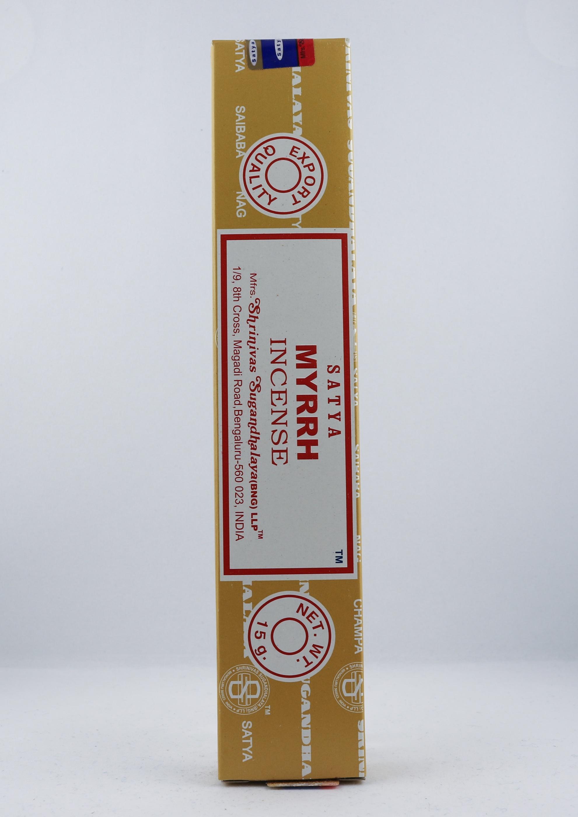 Myrrh rökelse wellness ayurveda halmstad sweden svensk aroma aromer