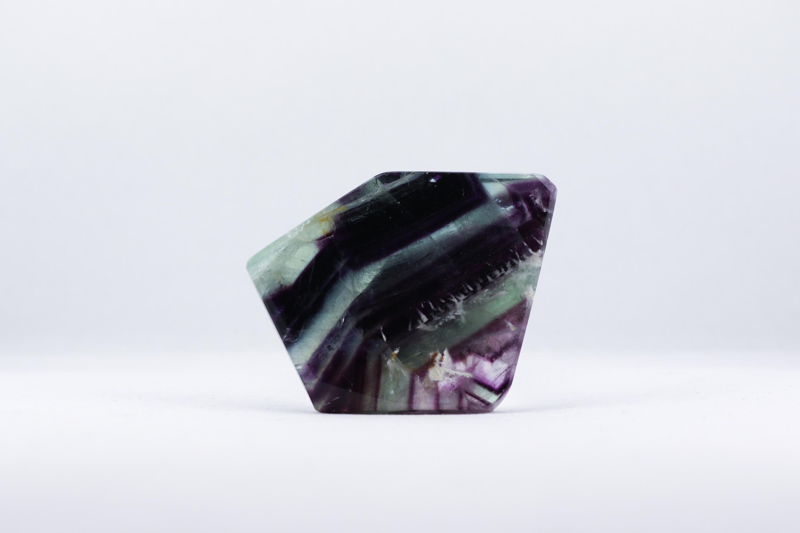Fluorit skiva trumlade spets stav kristaller slipade stenar healing stenar chakra stenar Wellness Ayurveda Halmstadmassören Halmstad Sverige Sweden svensk