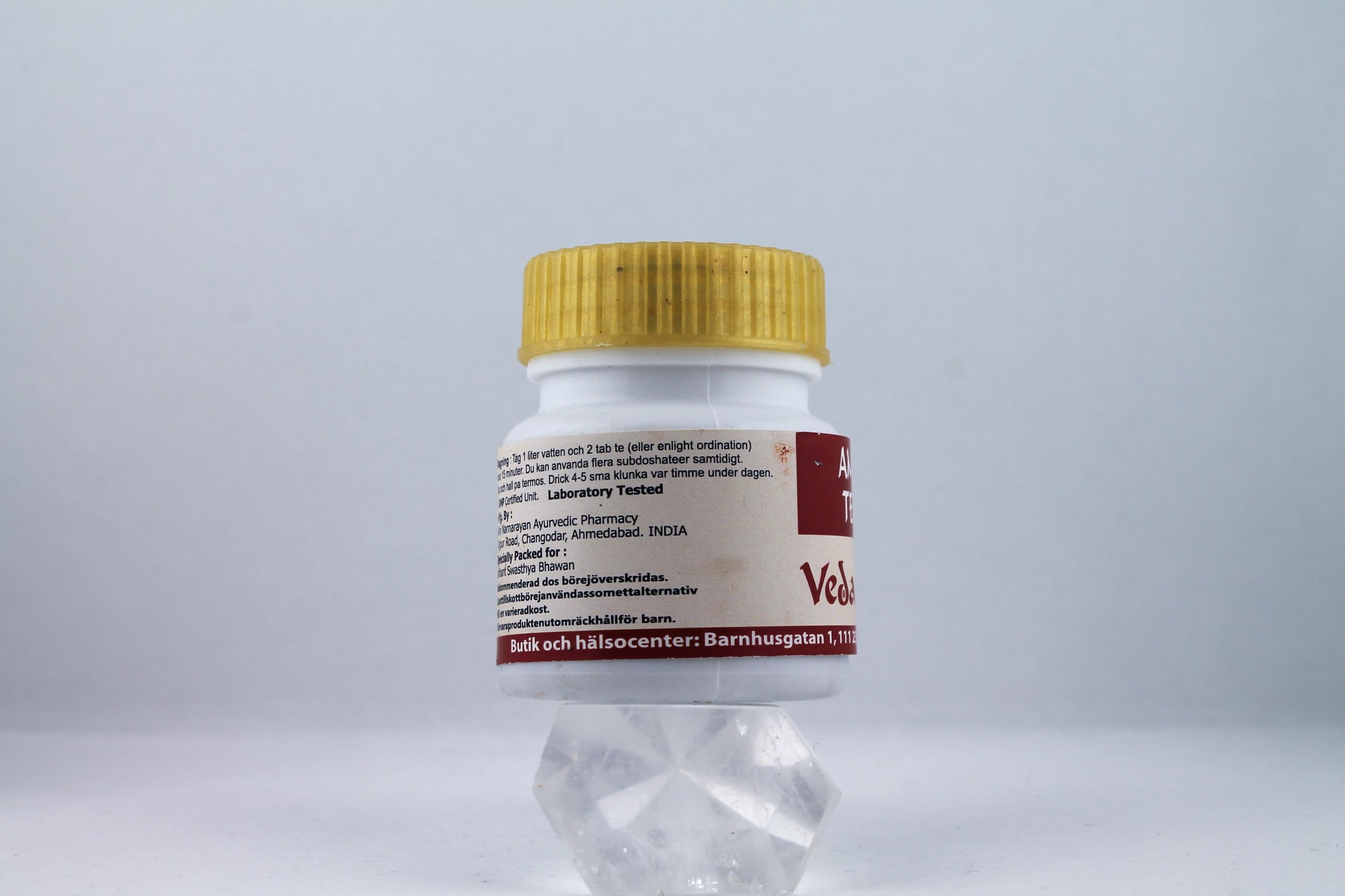 Ama Te Wellness Ayurveda Halmstadmassören Halmstad Sverige Sweden svensk tabletter