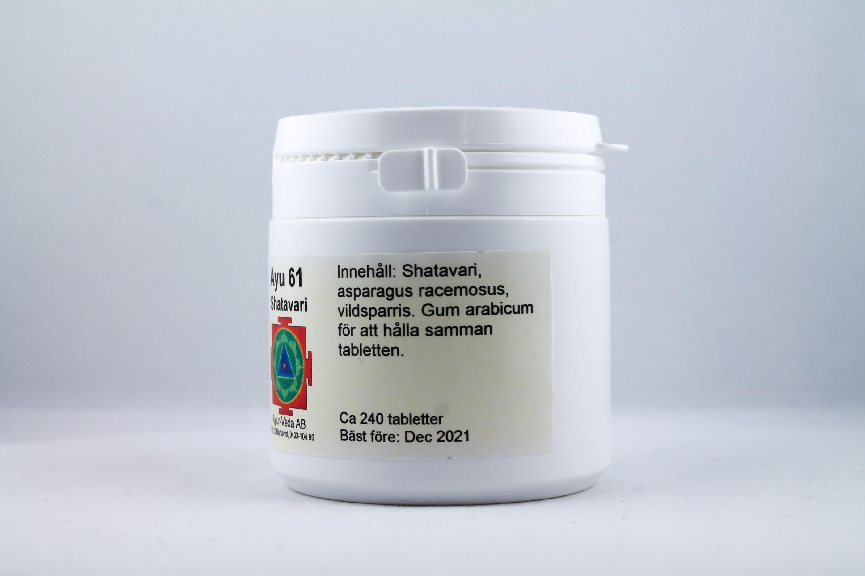 Shatavari Wellness Ayurveda Halmstadmassören Halmstad Sverige Sweden svensk tabletter