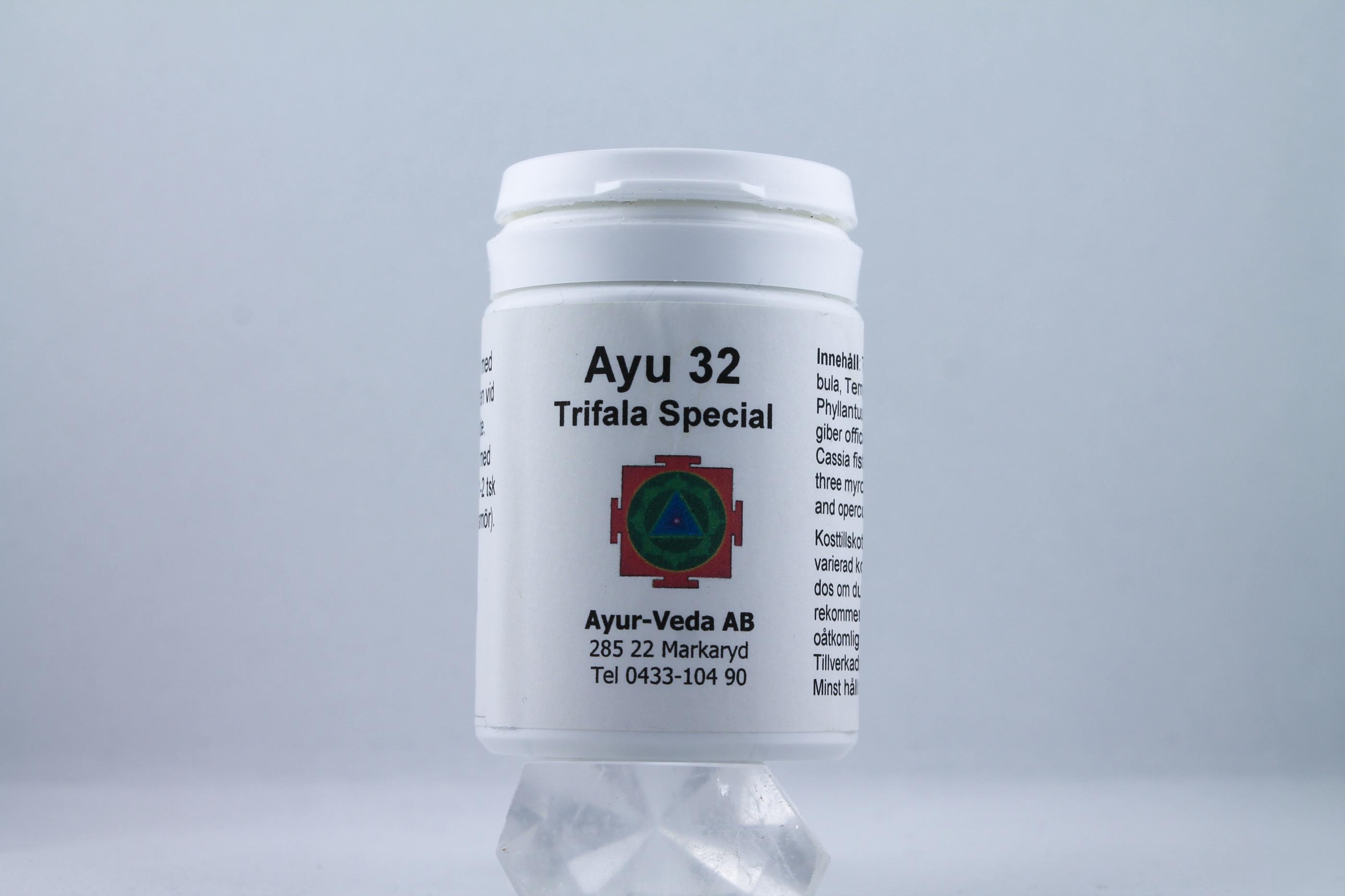 Trifala Triphala Special Wellness Ayurveda Halmstadmassören Halmstad Sverige Sweden svensk tabletter
