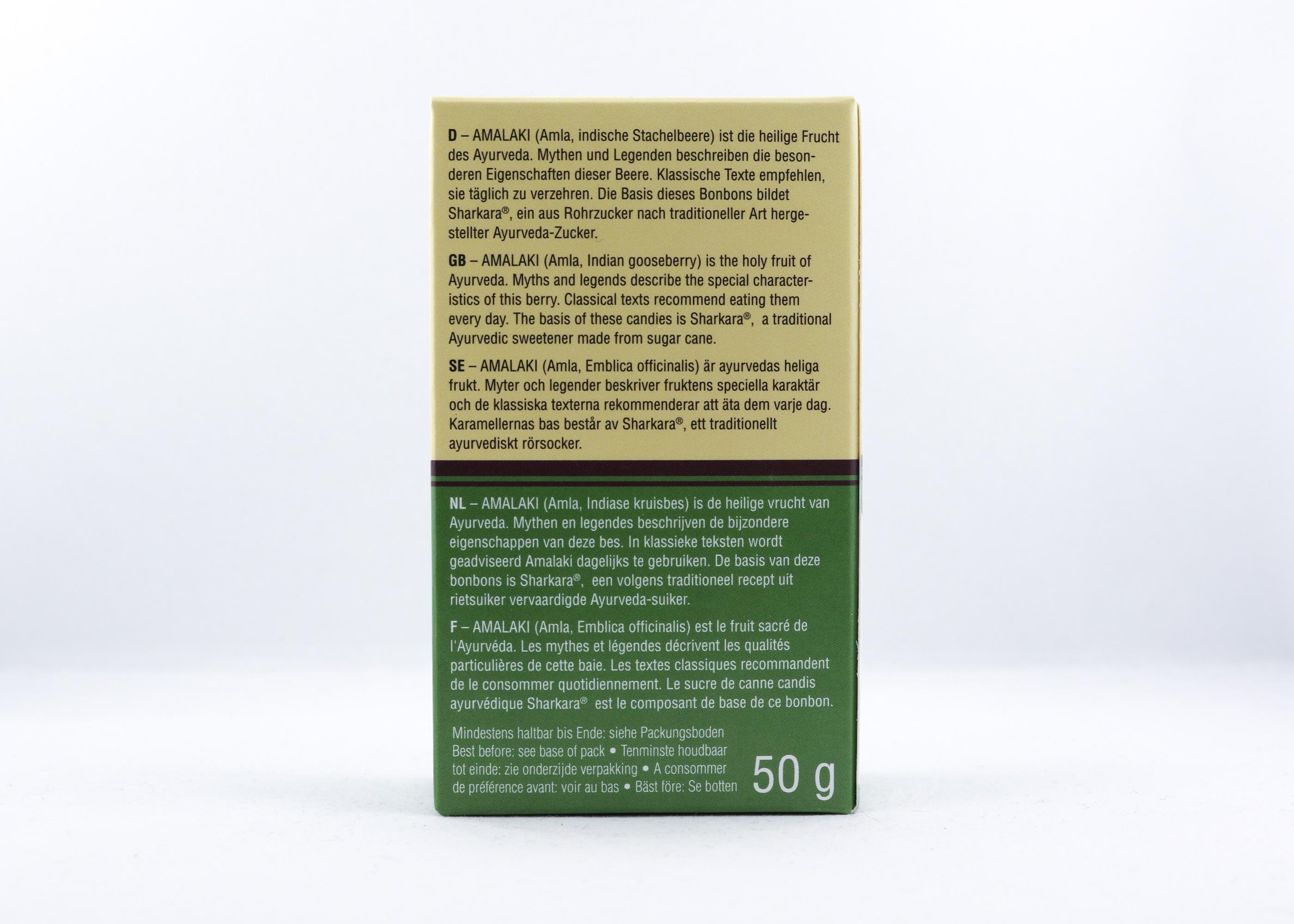 Amalaki Bonbons Wellness Ayurveda Halmstadmassören Halmstad Sverige Sweden svensk sött tabletter