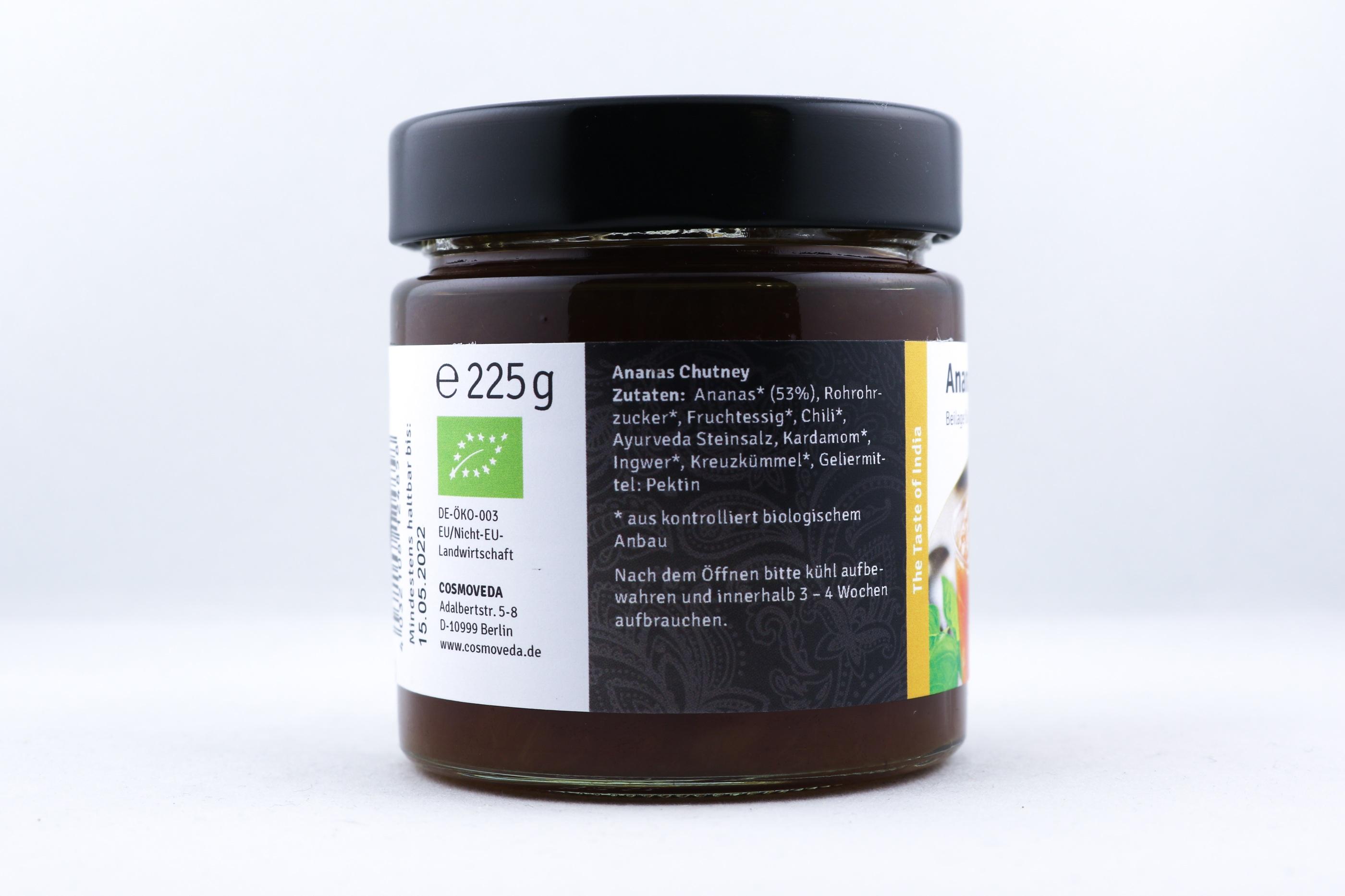 Ananas Chutney Wellness Ayurveda Halmstadmassören Halmstad Sverige Sweden svensk sött mat eko ekologiskt