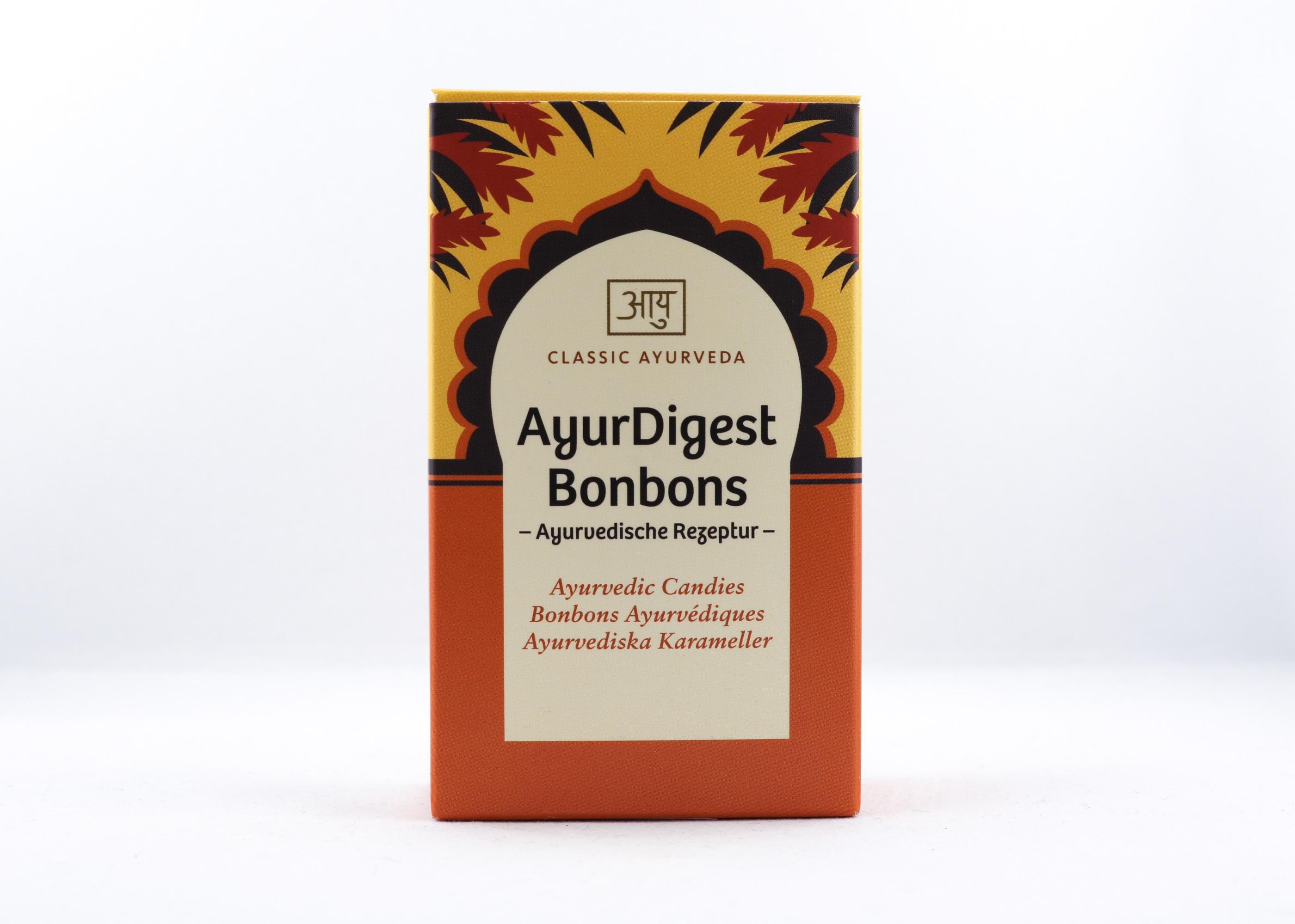 AyurDigest Bonbons Wellness Ayurveda Halmstadmassören Halmstad Sverige Sweden svensk sött tabletter