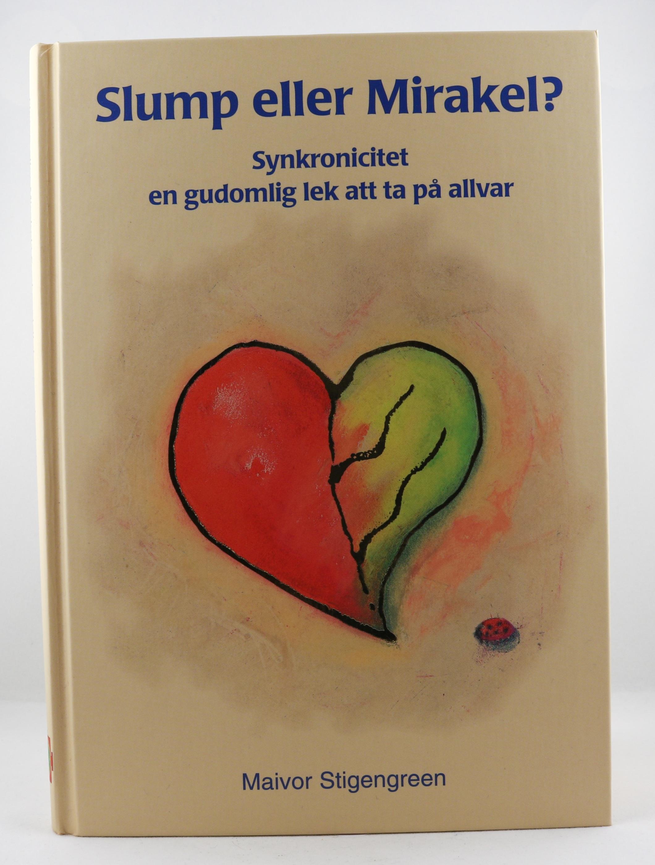 Slump eller mirakel  Synkronicitet en gudomlig lek att ta på allvar Wellness Ayurveda Halmstadmassören Halmstad Sverige Sweden svensk läsa bok