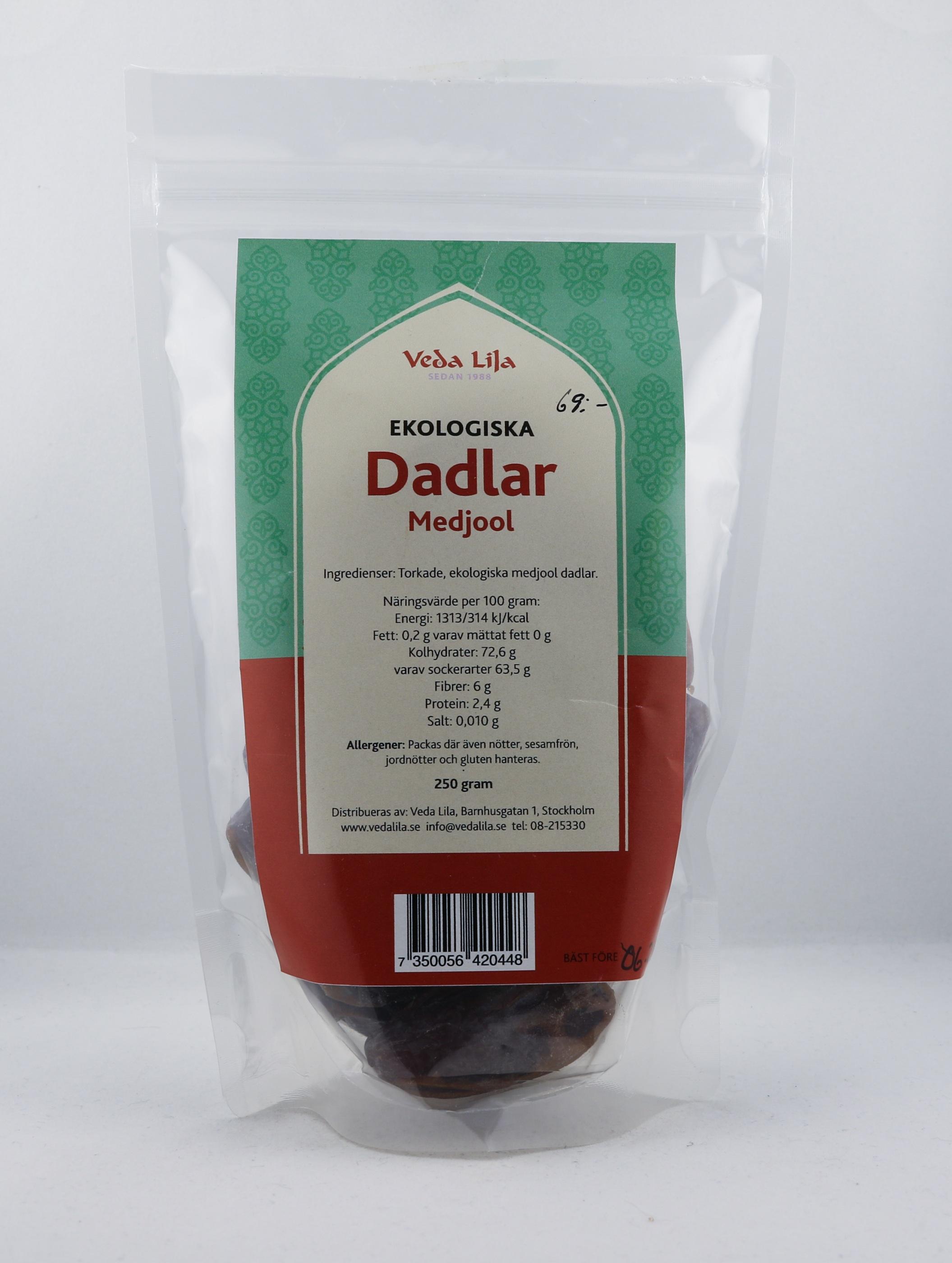 Dadlar Wellness Ayurveda Halmstadmassören Halmstad Sverige Sweden svensk sött mat eko ekologiskt