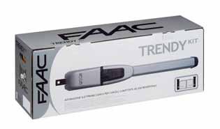 FAAC drivutrustning, Paketlösning: Trendy Kit