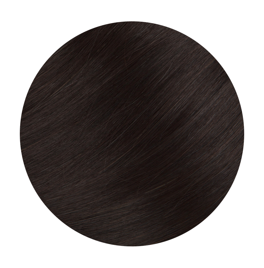 1B Natural Black - Sach Hair Extensions Color Chart