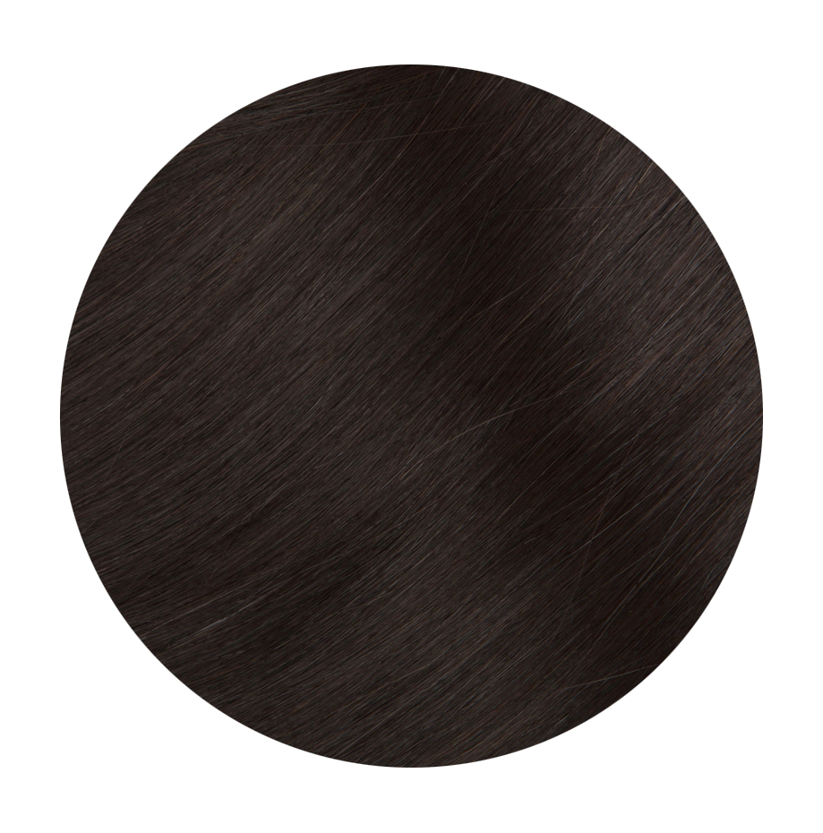 2 Dark Brown - Sach Hair Extensions Color Chart