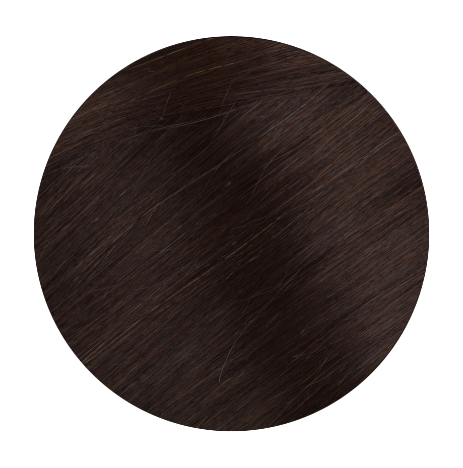 3 Medium Brown - Sach Hair Extensions Color Chart