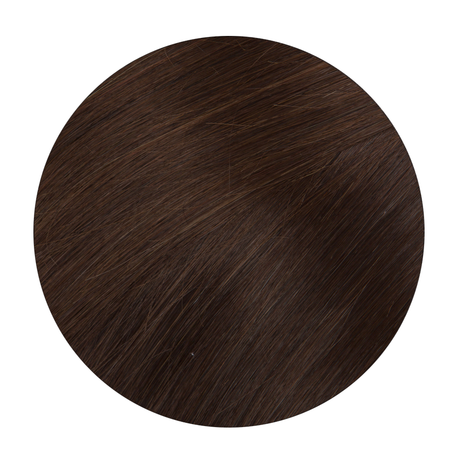 4 Chocolate Brown - Sach Hair Extensions Color Chart