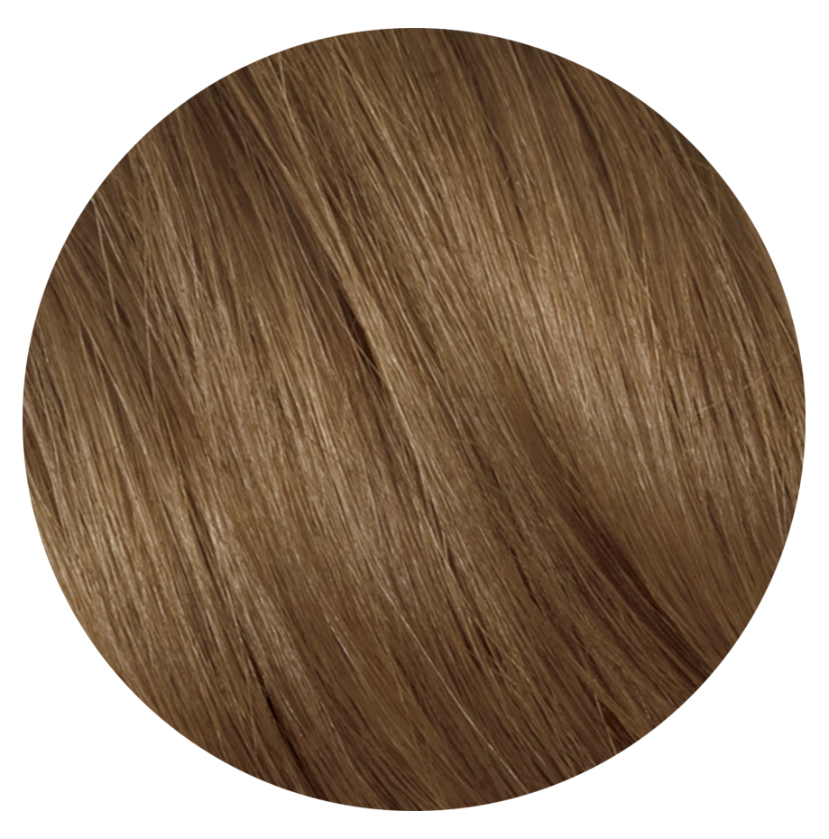 7A Slavic Ash Brown - Sach Hair Extensions Color Chart