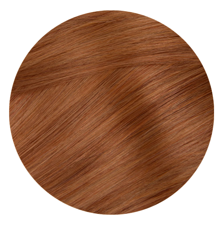30 Ginger Caramel - Sach Hair Extensions Color Chart