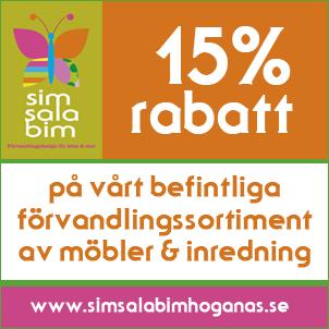 15% rabatt t.o.m. 12 mars 2014!