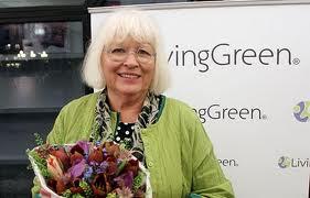 Gudrun Sjödén värdig vinnare till LivingGreen Award 2011