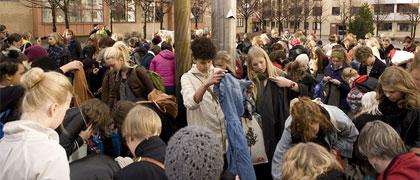 Sveriges Största Klädbytardag gjorde succé förra året. Foto: Roger Olsson