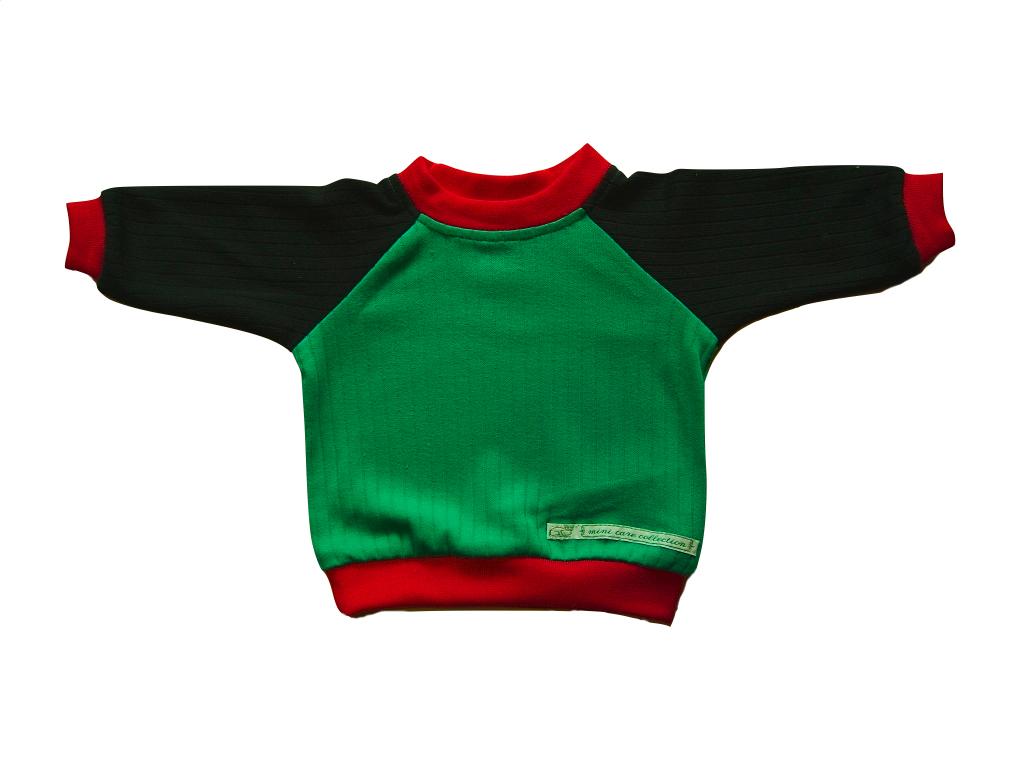 grönröd tröja