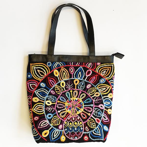 Hilosycolores, peru, ull, brodyr, fairtrade, fairmonkey, hantverk,  väska,  (5)