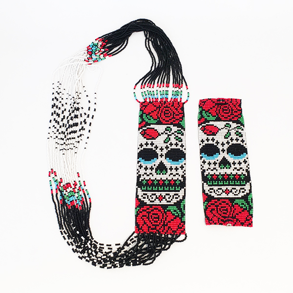 armband, halsband, ros, artesaniajuanita, fairmonkey, fairtrade, guatemala