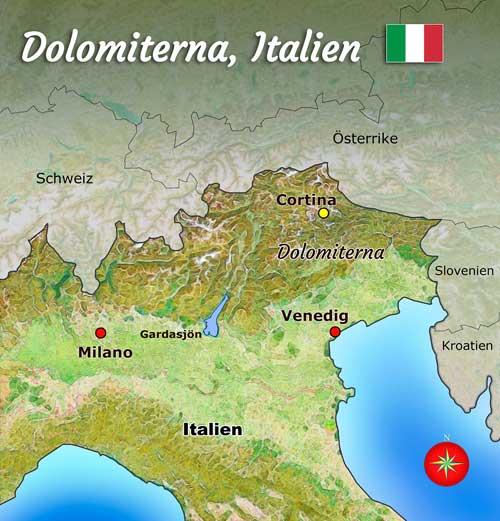 Karta Over Dolomiterna Karta 2020