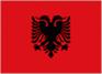 Albania car flag