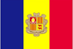 Andorra car flag