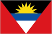 Antigua & barbuda car flag