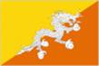 Bhutan car flag