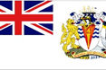 Brittsh Antarctic Territory car flag