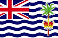 British Indian Ocean Territory car flag
