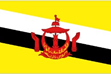 Brunei car flag