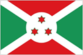 Burundi car flag