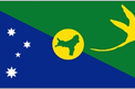 Christmas Island car flag