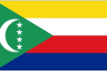 Comoros car flag