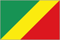 Congo - Brazzaville car flag