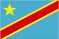Congo - Kinshasa car flag