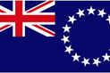 Cook Islands car flag