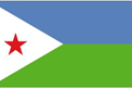 Djibouti car flag