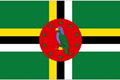 Dominica car flag