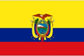 Ecuador car flag