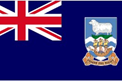 Falkland Islands car flag