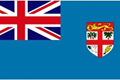 Fiji car flag