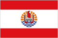 French Polynesia car flag