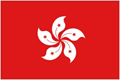 Hong Kong car flag