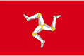 Isle of Man car flag