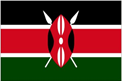 Kenya car flag
