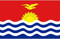 Kiribati car flag