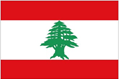 Lebanon car flag