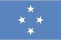 Micronesia car flag